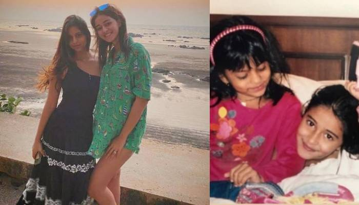 जब अनन्या पांडे ने सुहाना खान को अपनी पीठ पर बिठाया, देखें दोनों के बचपन की क्यूट तस्वीरें